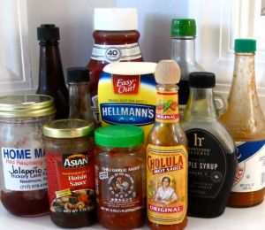 condiments - assorted