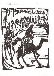 lech lecha camel caravan