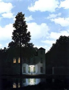 Empire of Lights, 1954 by Magritte