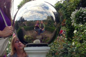 butchart gardens crystal ball