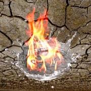 Burning_Splash_over_Dried_Mud