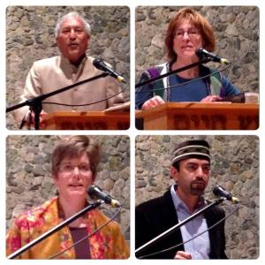 Interfaith symposium on hope four speakers