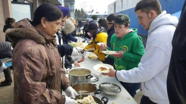surrey interfaith feed the hungry