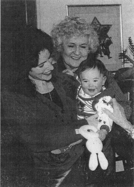 LDK, Ruthie, Hillary 1994