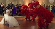 dragons at wedding cropped