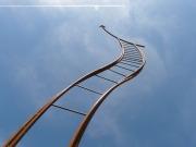 ladder-curved